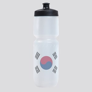 south korea flag Sports Bottle